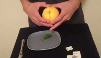 How to Do David Blaine's Card in Lemon Trick