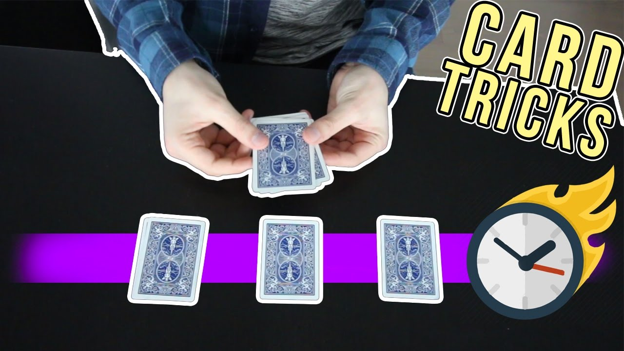 3 EASY Card Tricks You Can Learn In 5 MINUTES!!!